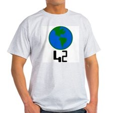 42 world -  Ash Grey T-Shirt