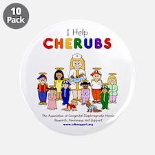 """I Help CHERUBS"" Nurse Melissa Logo Character 3.5"""