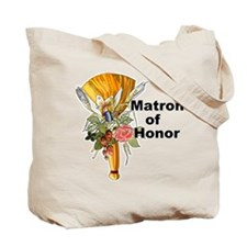 Jumping the Broom Matron of Honor Tote Bag