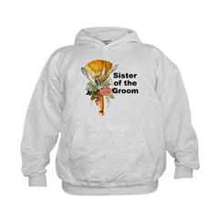 Jumping the Broom Sister of the Groom Hoodie