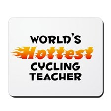 World's Hottest Cycli.. (B) Mousepad