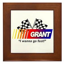 Racing - Grant Framed Tile