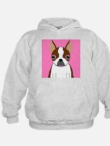 Boston Terrier (Brown) Hoodie