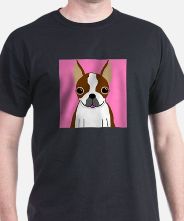 Boston Terrier (Brown) T-Shirt