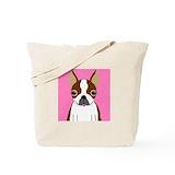 Boston terrier Bags & Totes