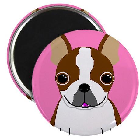 Boston Terrier (Brown) Magnet
