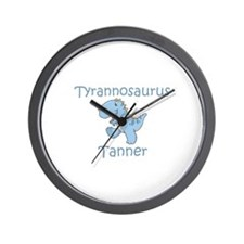 Tyrannosaurus Tanner Wall Clock