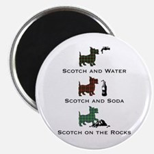 Scotties and Scotch - Magnet