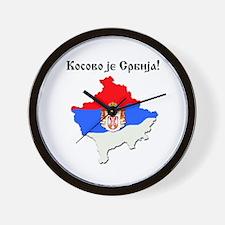 Kosovo je Srbija Wall Clock