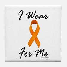 I Wear Orange For Me 1 Tile Coaster