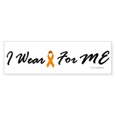 I Wear Orange For Me 1 Bumper Bumper Sticker