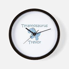 Tyrannosaurus Trevor Wall Clock
