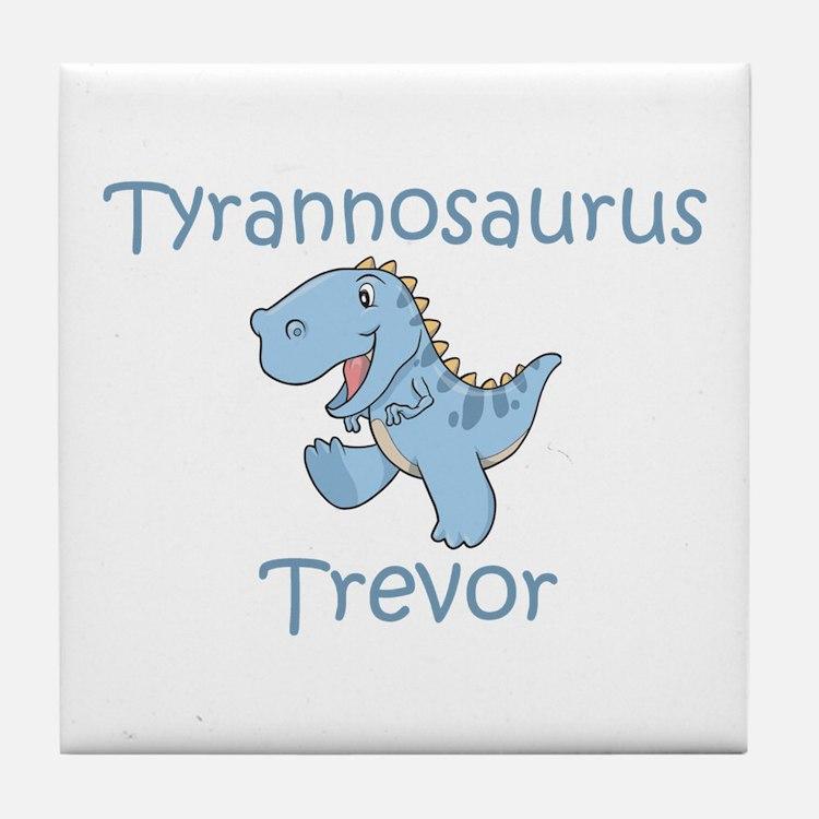 Tyrannosaurus Trevor Tile Coaster