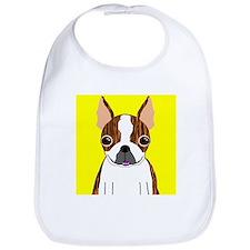 Boston Terrier (Brindle) Bib