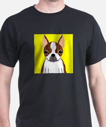 Boston Terrier (Brindle) T-Shirt