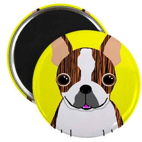 Boston Terrier (Brindle) Magnet