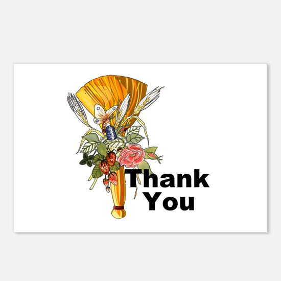 JTB Thank You Postcards (Package of 8)