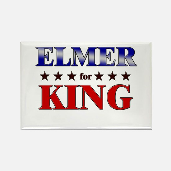 ELMER for king Rectangle Magnet