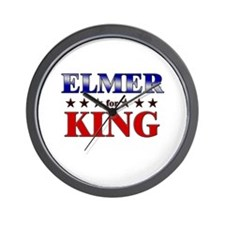 ELMER for king Wall Clock