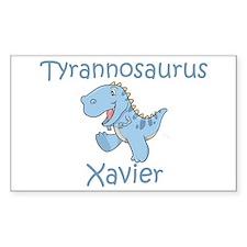 Tyrannosaurus Xavier Rectangle Decal