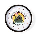 RivDiv 512 River Rats Wall Clock