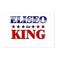 ELISEO for king Postcards (Package of 8)