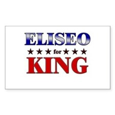 ELISEO for king Rectangle Decal