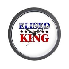 ELISEO for king Wall Clock