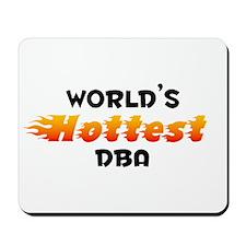 World's Hottest DBA (B) Mousepad