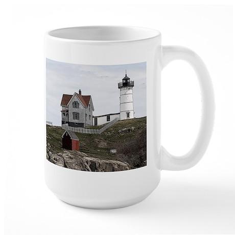 Nubble Lighthouse ~ Large Mug