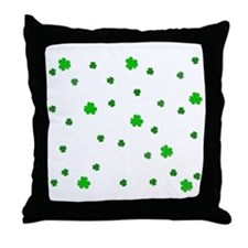 Little Shamrock's Throw Pillow