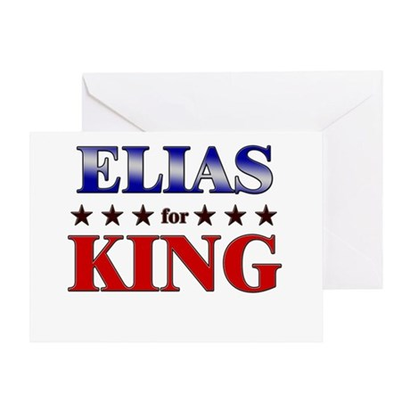 ELIAS for king Greeting Card