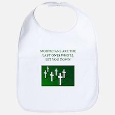 mortician gifts t-shirts Bib