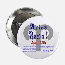 Aries April 13th Button