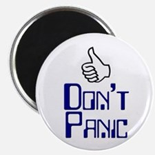 "Don't Panic - 2.25"" Magnet (10 pack)"