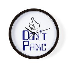 Don't Panic -  Wall Clock