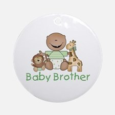 Critter Friends Baby Brother (AF) Ornament (Round)