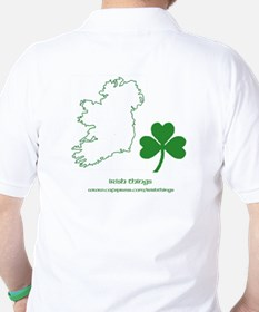 Caution Irish Drinking Machine T-Shirt