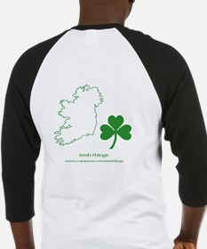 Caution Irish Drinking Machine Baseball Jersey