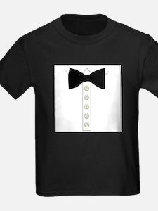 Black bow tie formal tuxedo T