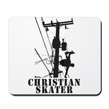 Christian Skater 1 Mousepad