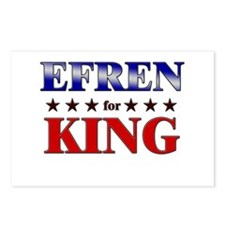 EFREN for king Postcards (Package of 8)