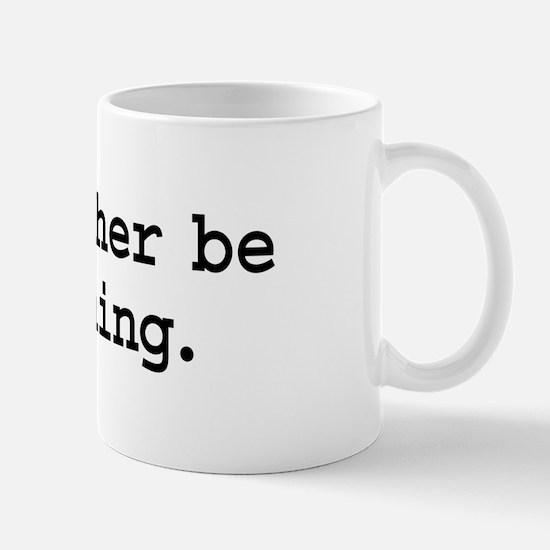 i'd rather be moshing. Mug