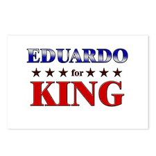 EDUARDO for king Postcards (Package of 8)