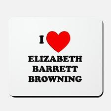 Elizabeth Barrett Browning Mousepad