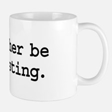 i'd rather be podcasting. Mug