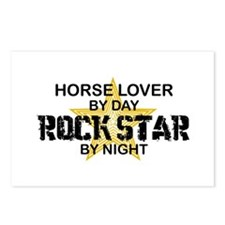 Horse Lover Rock Star Postcards (Package of 8)