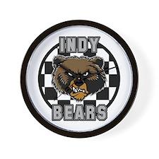 Indy Bears fantasy football Wall Clock