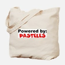 Powered by Pasteles Tote Bag