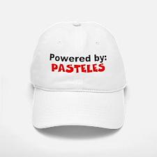 Powered by Pasteles Baseball Baseball Cap